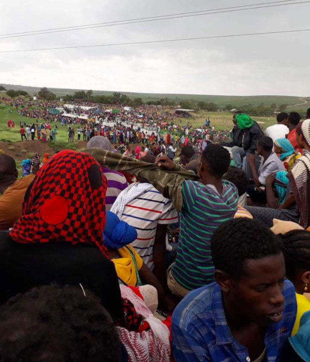The sad plight of civilians displacement in Eastern Ethiopia