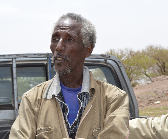 Gebremichael Gebremeskel, farmer and community activist.