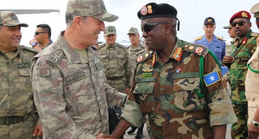 Turkey Opens Military Base in Somalia