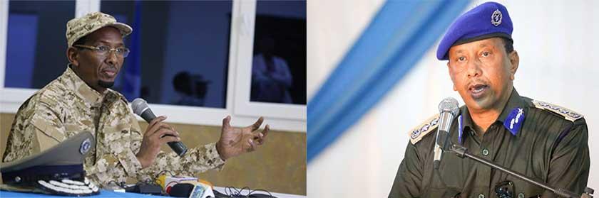 Somalia police and intelligence chief sacked