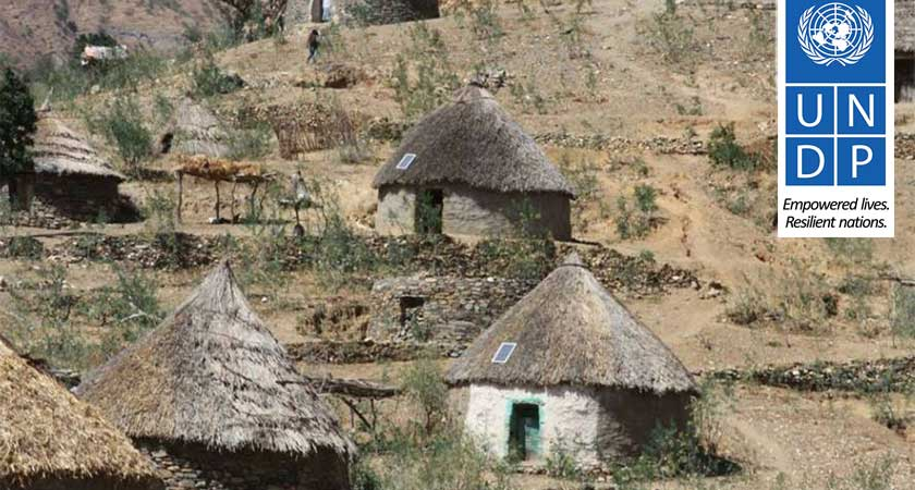 Ajerbeb village become beneficiary of solar energy lighting