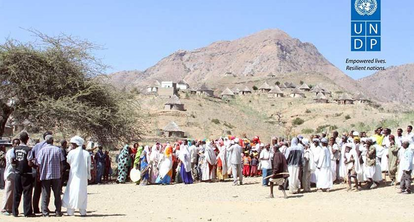 Residents of Ajerbeb Village Welcome Solar Eenergy Lighting