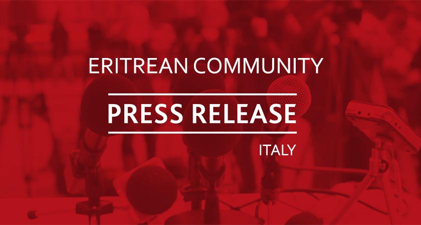 The Eritrean Community Requests Correction to the Italian Press