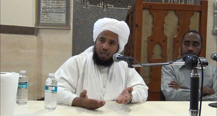 Sheikh Abdul Hai Yousuf of Sudan preaching hate in the name of Islam
