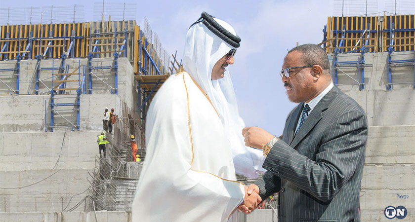 Qatar Funds Ethiopia's Dam to Escalate Crisis With Egypt