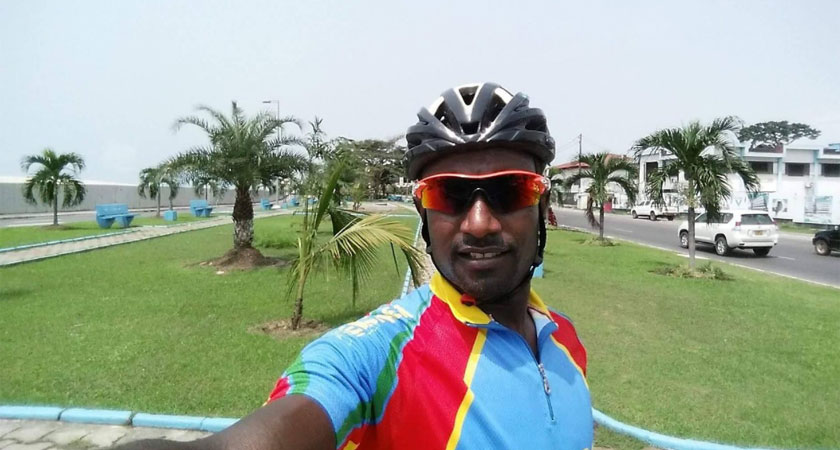 Team Eritrea Participating at Tour du Rwanda