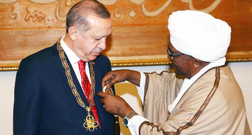Egypt Sudan relation suffers a new low following Turkey President visits