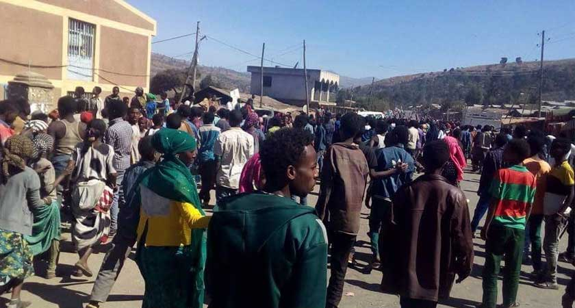 social media shutdown in Ethiopia amid fresh protests
