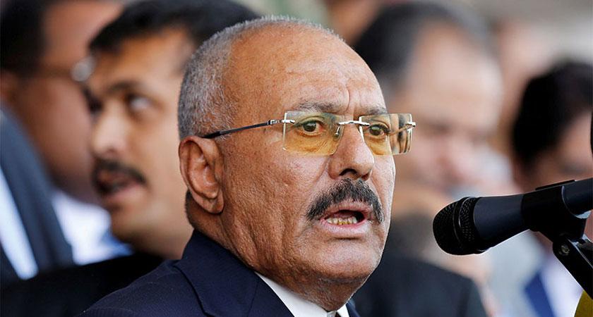 Split in Rebel Yemeni Coalition, as Ex President Saleh Seeks Peace with Saudis