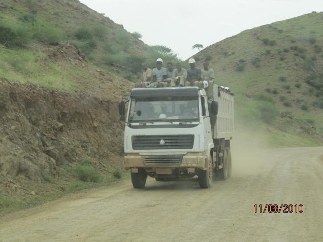 Segen workers at Bisha mine