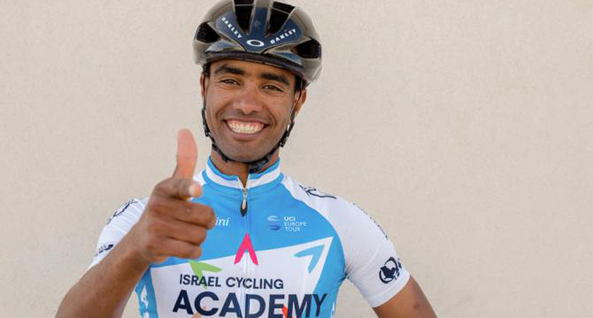 Awet Gebremedhin Signs for Israel Cycling Academy in 2018