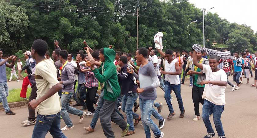 Oromo region defy state emergency and people continue protests