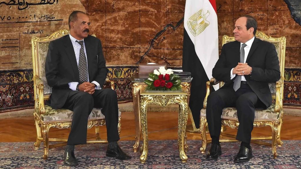 President Isaias Afwerki's visit to Cairo is a new link in the process of distinguished Egypt Eritrea relations