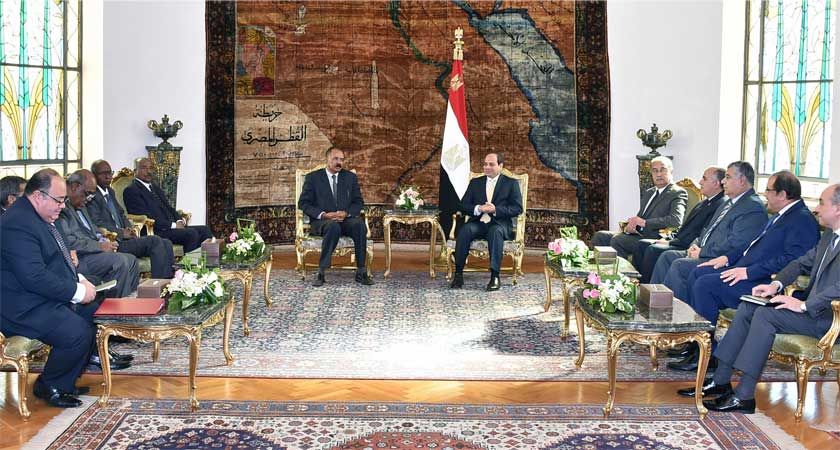 Egypt appreciates Eritrea's role and importance on the security of the Red Sea and Bab-el-Mandeb