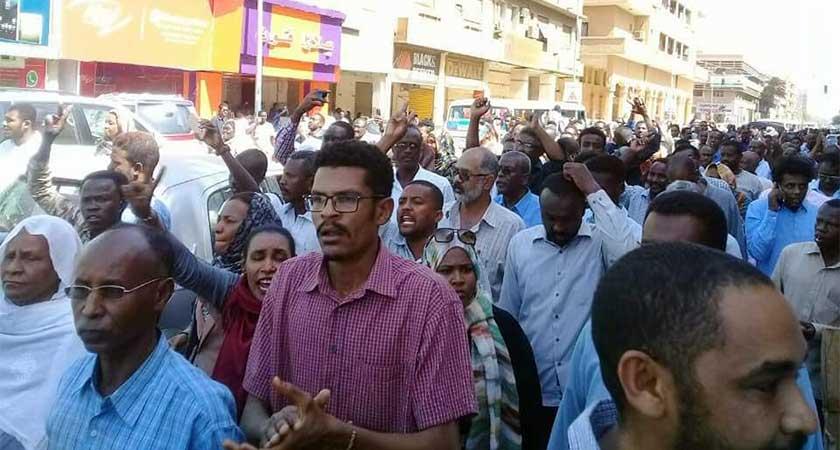 Uprising and Public protests in Sudan Khartoum
