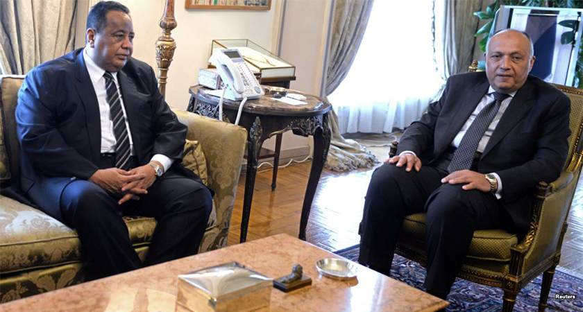 FMs of Sudan and Egypt Discuss Importance of Strengthening Relations