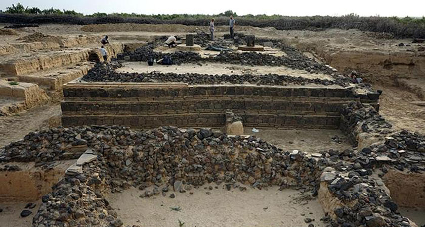A team of Italian archaeologists excavated the ancient port city of the Axum Kingdom - Adulis