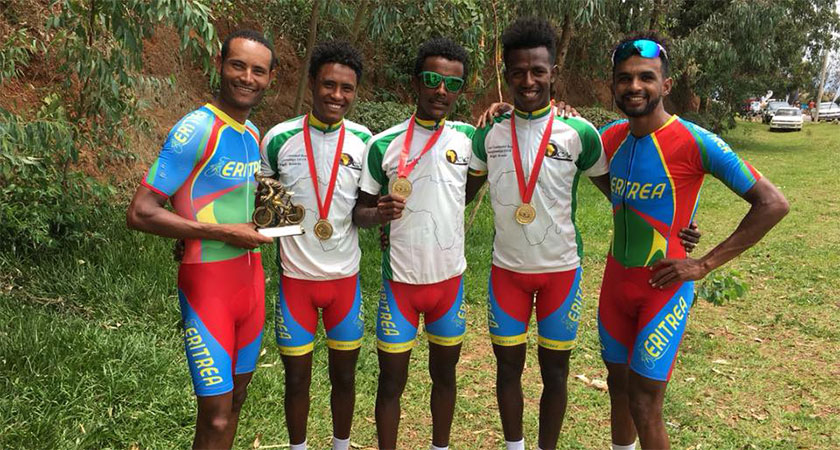 Team Eritrea wins African Championship TTT for 8th time