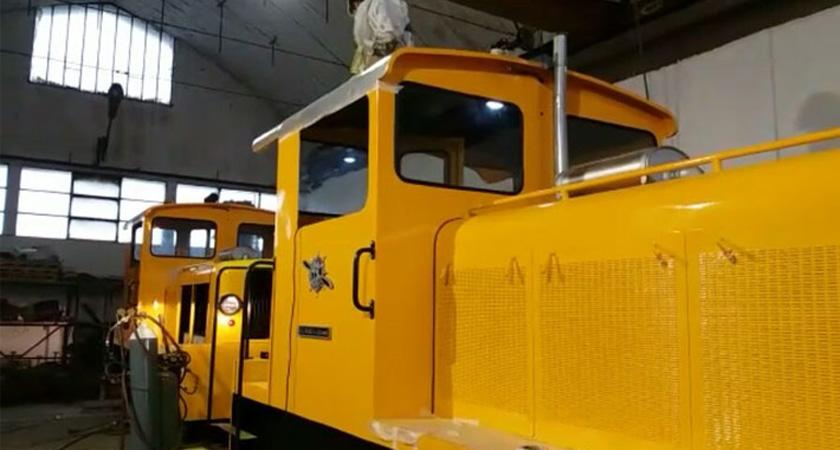 The Italian government restoring four of the eleven surviving steam locomotives in Eritrea