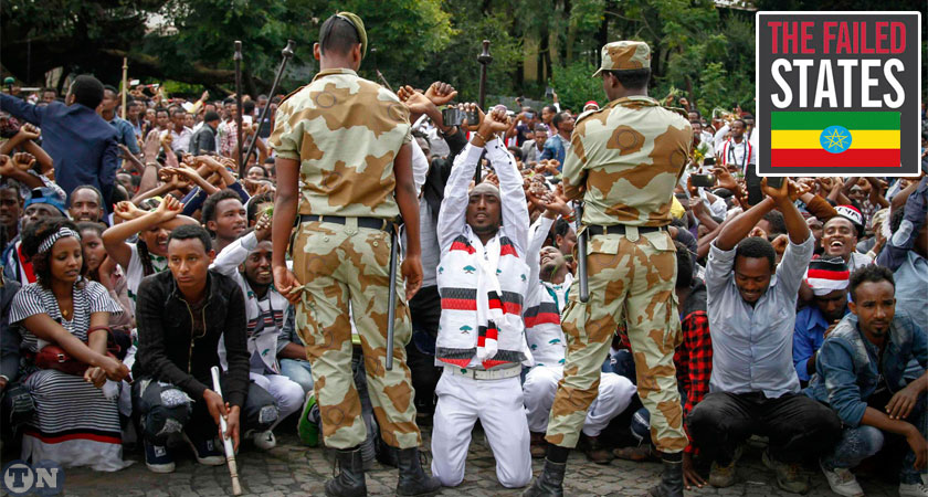 Today's fragile Ethiopia is a stateless state, a failed state, a make-believe state