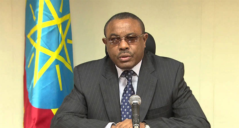 Ethiopian Prime Minister Tenders His Resignation