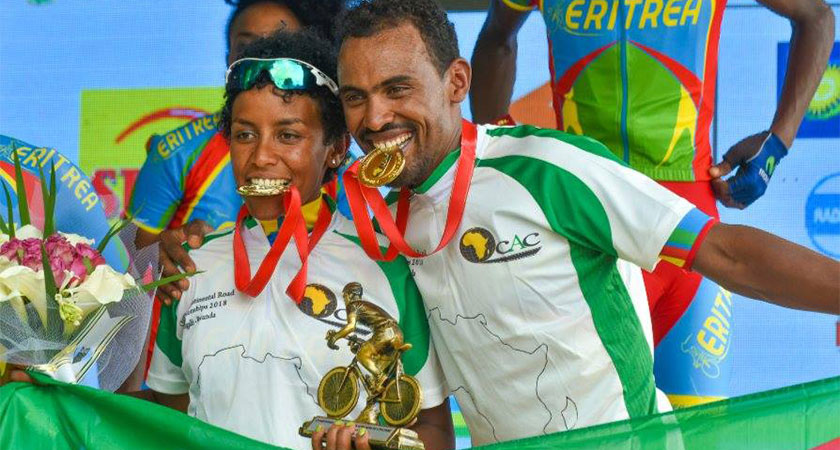 Cycling: Eritrean Brother and Sister Becomes Champions of Africa
