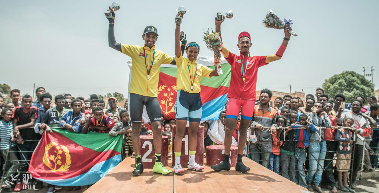 The Debesay family wining cycling in Eritrea and Africa