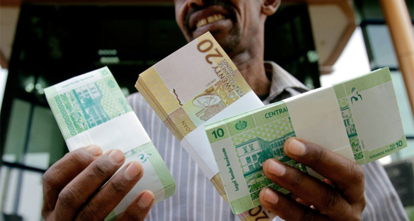 Sudan devalue the local currency to 31.5 Sudanese pounds against the US dollar