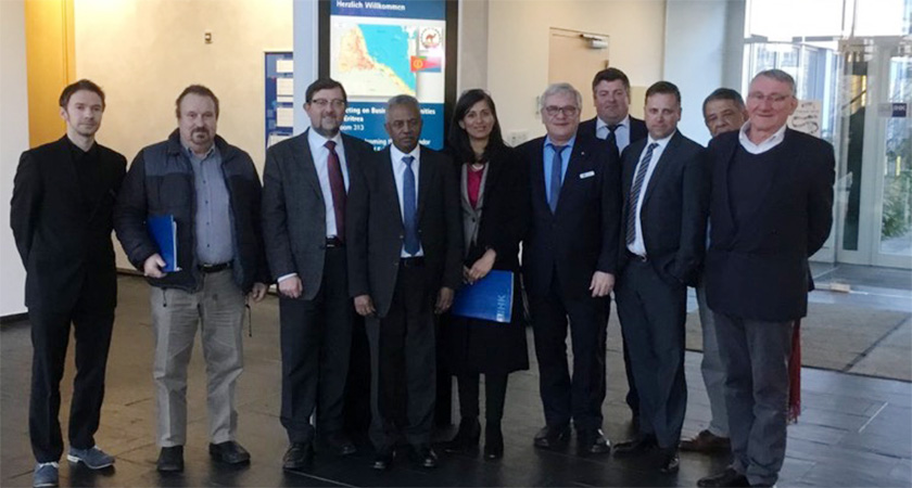 Germany Dresden Chamber of Commerce Bilateral trade with Eritrean Ambassador to EU