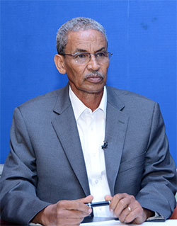 Mr. Tesfaselasie Berhane, Minister of Transportation and Communications