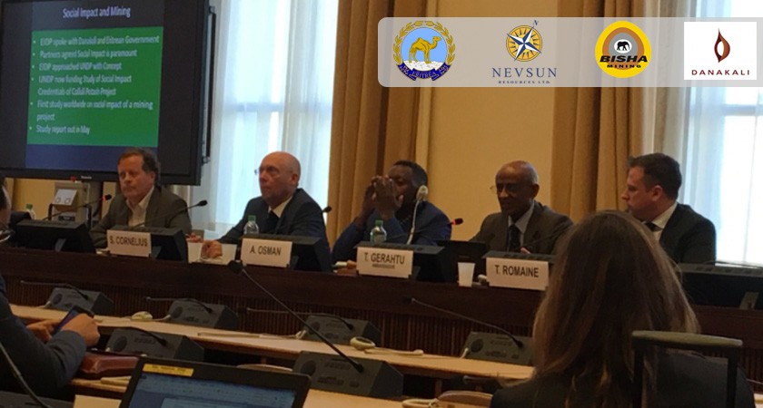 """UN Side Event, """"Demystifying Eritrea: The Ground Reality, Mining and Human Rights"""""""