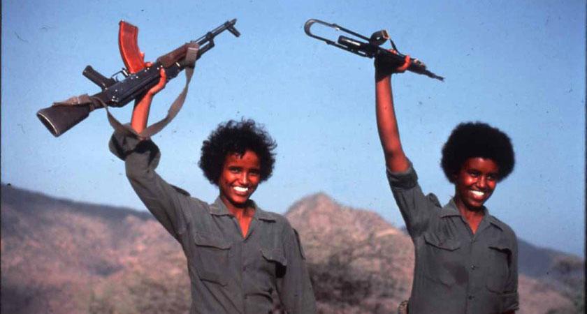 Eritrean women as the backbone of the national liberation struggle