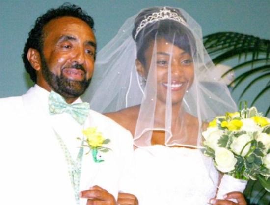 Tiffany Haddish and her dad at wedding