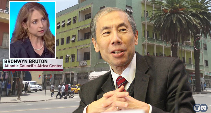 """The first visit for """"over a decade"""" by an American Deputy Secretary of State Donald Yamamoto in Eritrea"""
