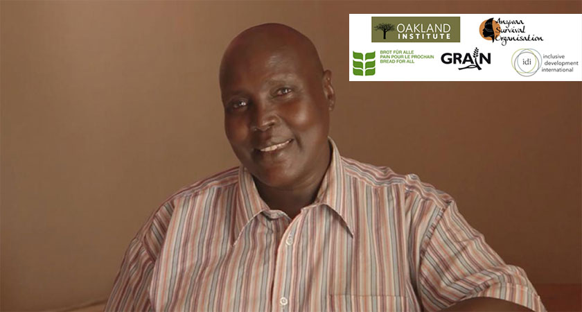 Pastor Omot Agwa, an indigenous land rights defender from the Gambella region