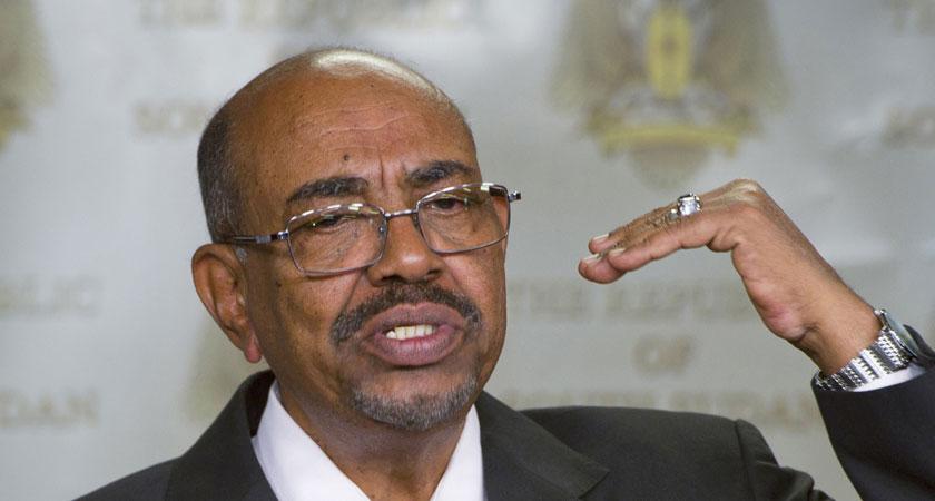 President al-Bashir vowed to combat corruption