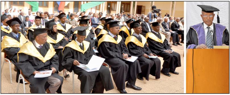 How is the postgraduate education in Eritrea progressing?