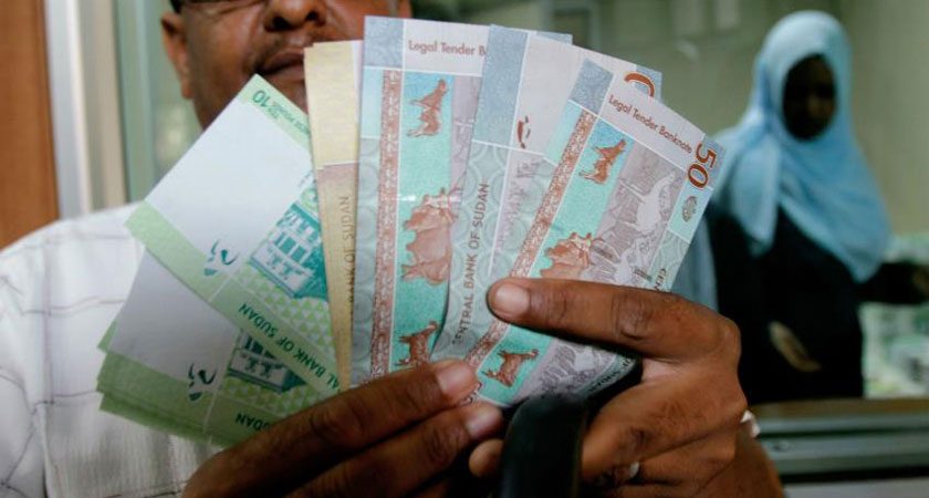Inflation in Sudan rose to 55.6 percent in March year-on-year from 54.34 percent in February