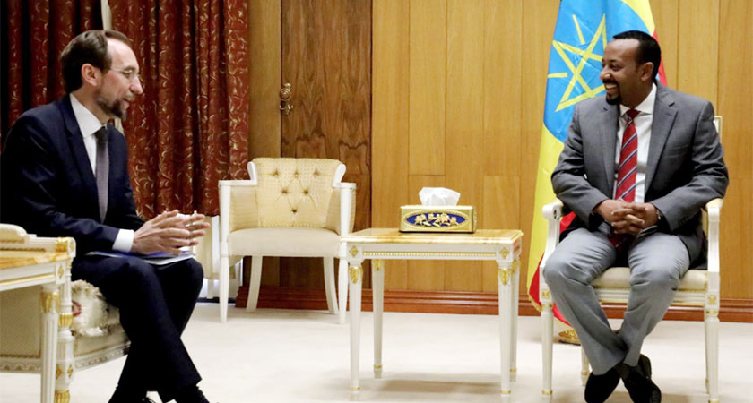 UN High Commissioner for Human Rights held talks in Ethiopia