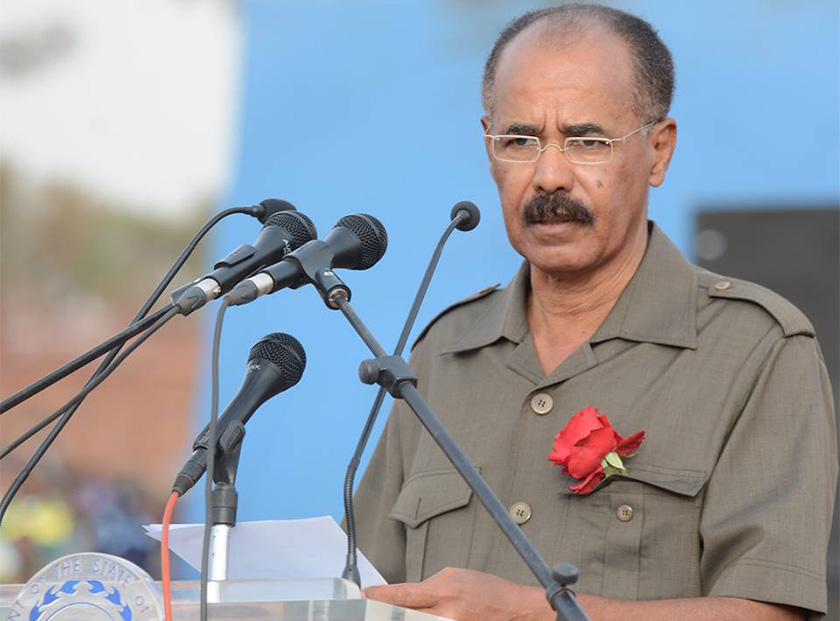 President Isaias Martyr's Day speech