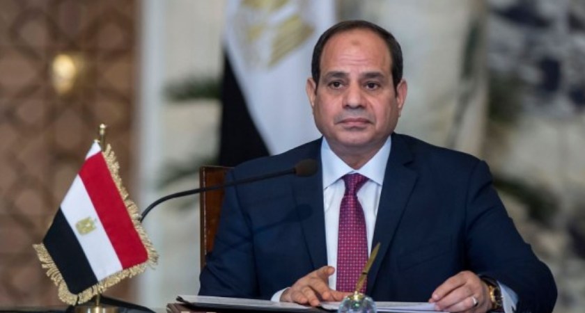 Egypt's President Abdel Fattah al-Sisi was sworn in on Saturday for a second four-year term in office