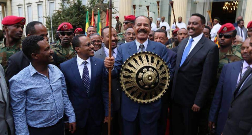 President Isaias' first-ever visit to Ethiopia in 25 years