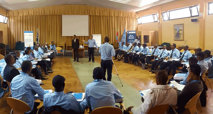 UNODC first training for Eritrea law enforcement officials on countering Trafficking in Persons and Smuggling of Migrants