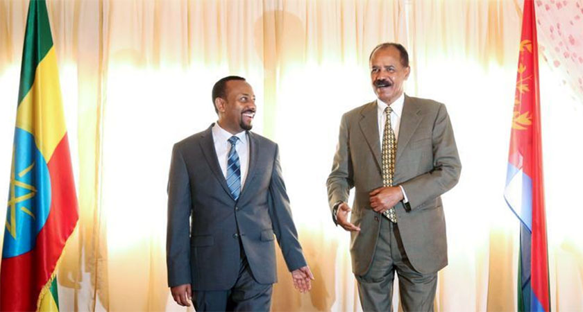 Can the changing relationship between Ethiopia and Eritrea will lead to reforms for each country?