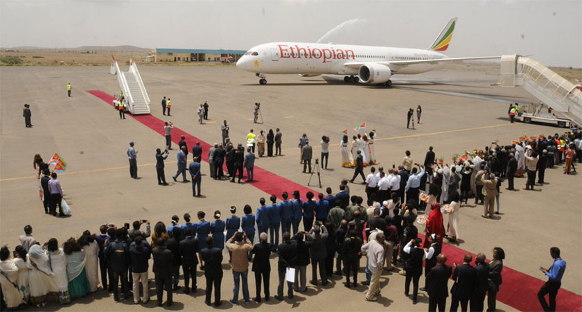 Ethiopian Airlines Makes Historic Flight to Eritrea
