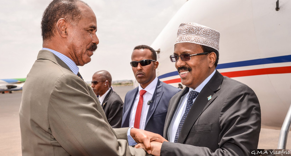 Eritrea and Somalia agreed to restore diplomatic ties