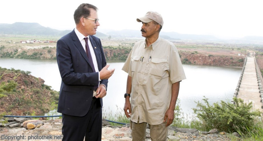 German Economic Cooperation Minister Meets Eritrean President