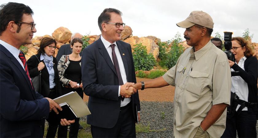 Eritrea Working TowardIntegrated Economy with Ethiopia: Foreign Minister Osman Saleh