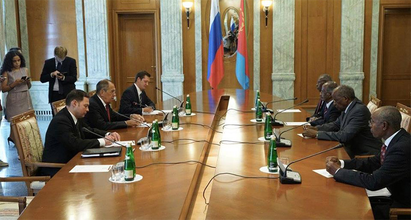 Eritrea, Russia Foreign Ministers Meets in Sochi