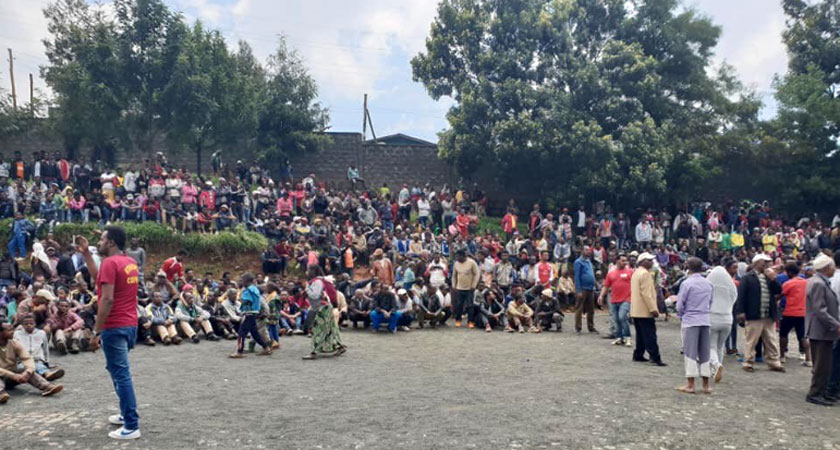 Deadly Ethnic Attacks Erupt Outside Addis Ababa